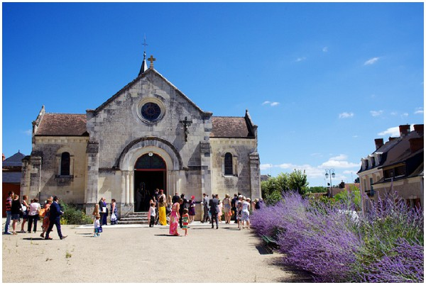 beautiful wedding church loire valley