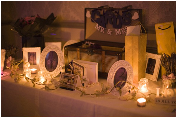 decorated gift table