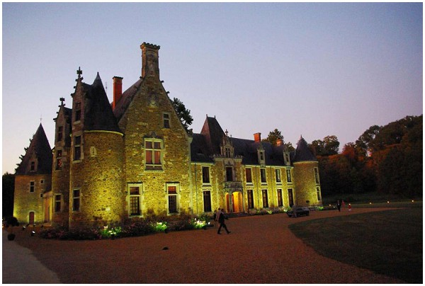 fairytale wedding chateau