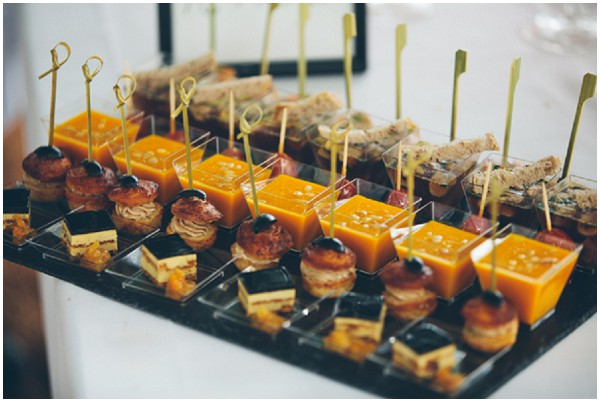 french wedding catering