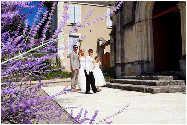 loire valley weddings with lavender plants