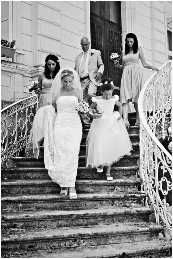 wedding stairs
