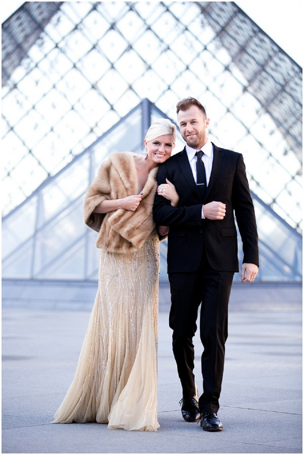 Paris newlyweds