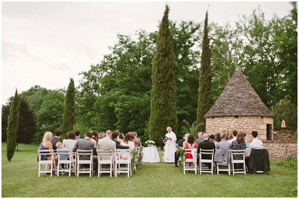 dordogne outdoor wedding