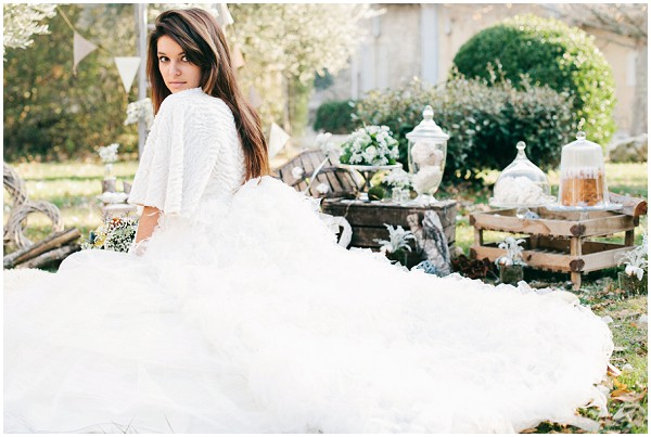 french winter bride