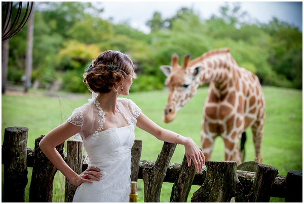 giraffe wedding