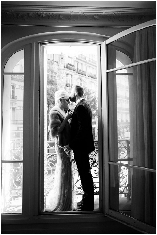 newlyweds in paris