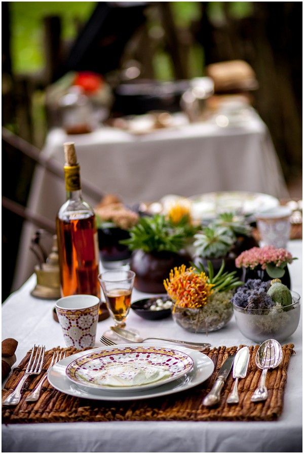 out of africa table design