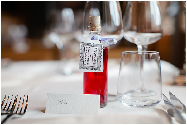 slow gin wedding favours