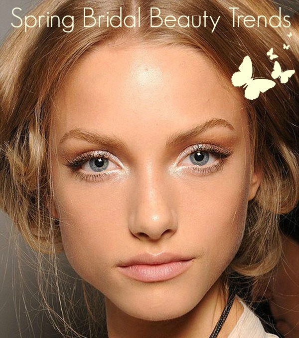 spring bridal beauty trends