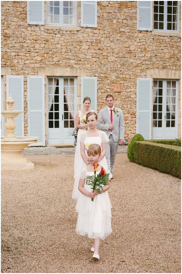 french country chic wedding style