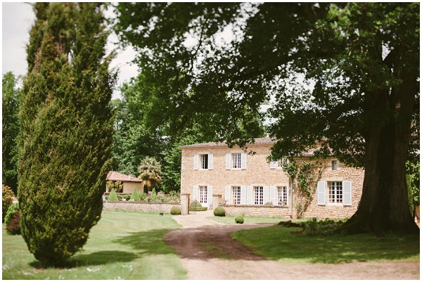 wedding venue in the dordogne, France