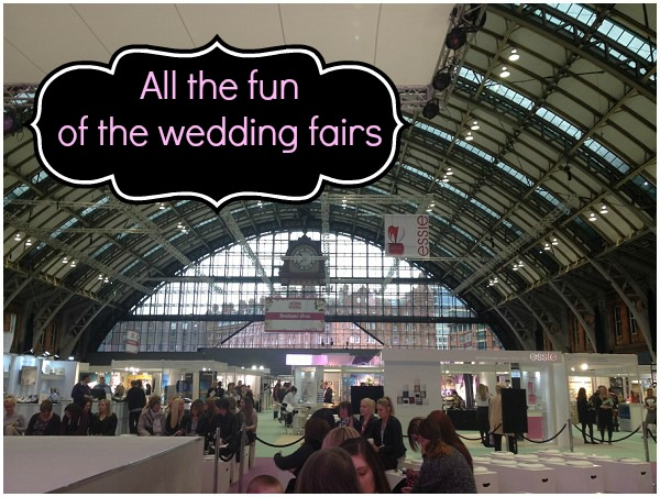 all the fun of the wedding fairs