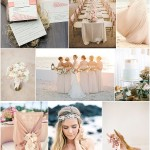 blush beach wedding inspiration