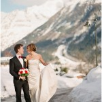chamonix winter wedding