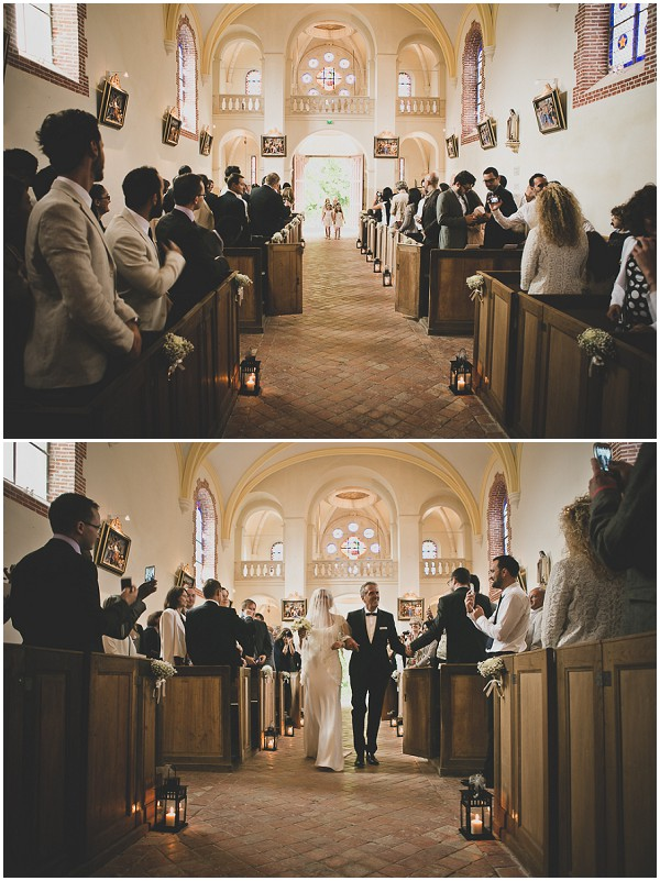 church wedding burgundy