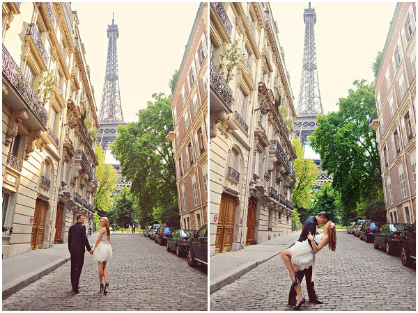 couples shoot paris