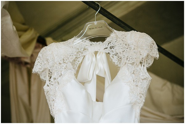 lace french wedding dress