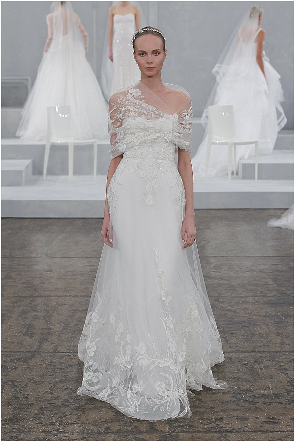 Monique Lhuillier Spring 2015 wedding dresses