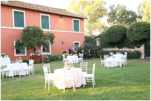 outdoor wedding italy