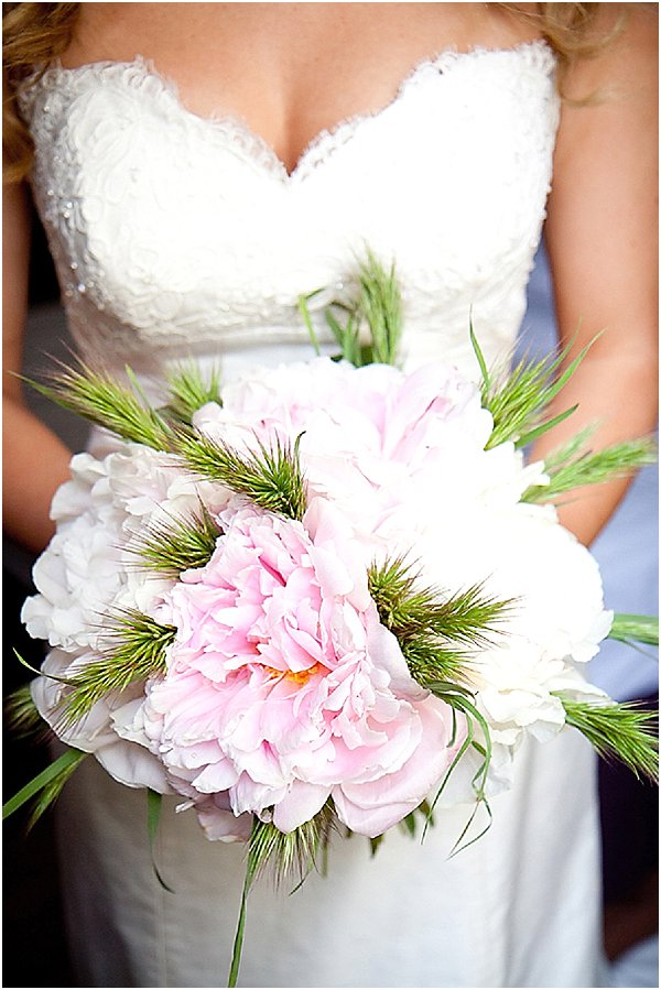 pink green bouquet