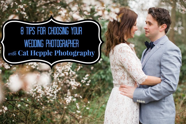 tips for choosing your wedding photographer