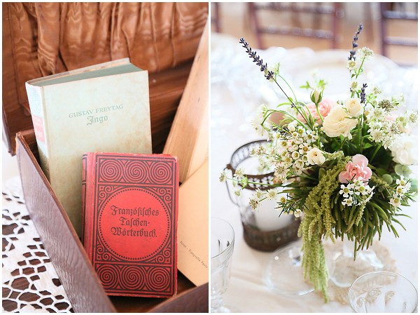 vintage wedding books