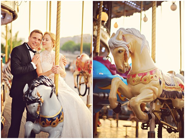 wedding carousel paris
