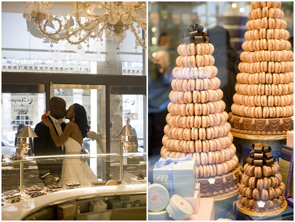 wedding macarons Paris