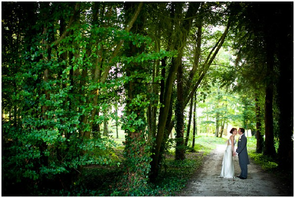 woodland romantic wedding
