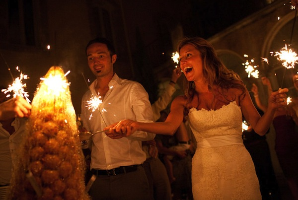 Summer weddings-croquembouche
