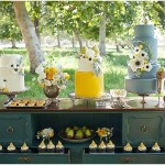 Pear Dessert table