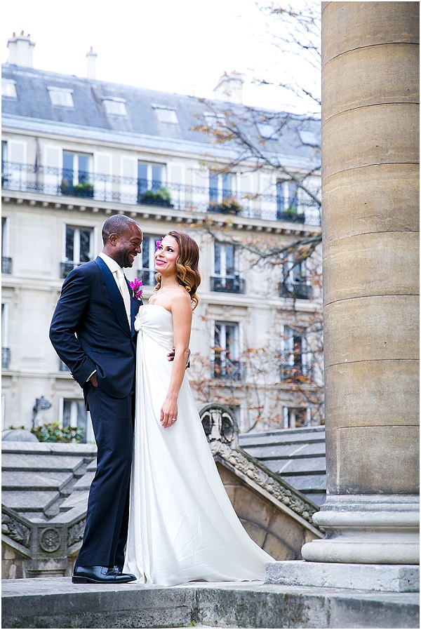 chic wedding in paris