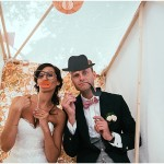 fun photobooth wedding