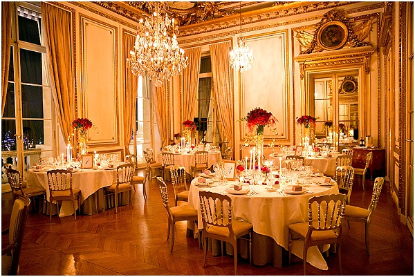 hotel crillon wedding