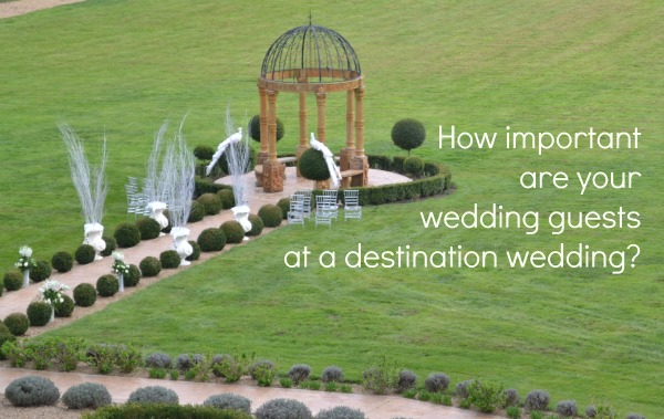 how important are your wedding guests