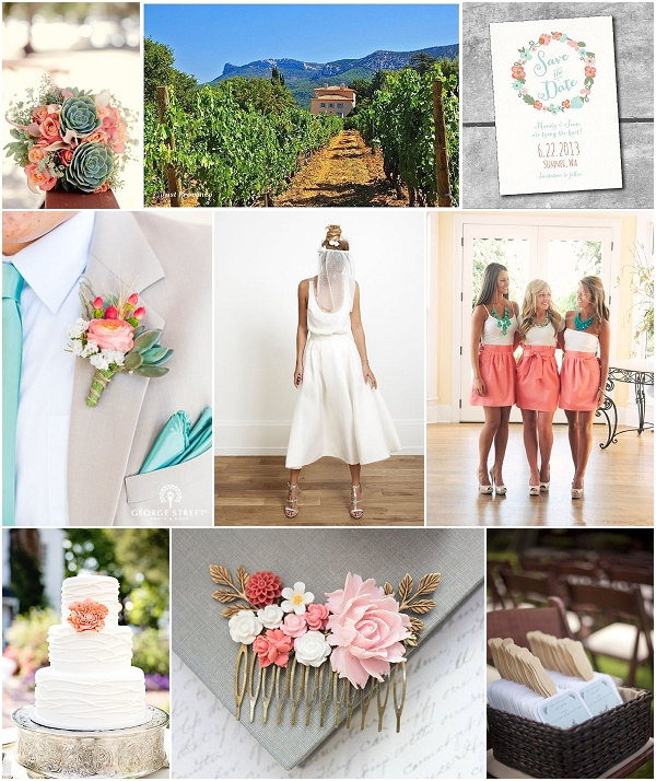 provence countryside wedding inspiration