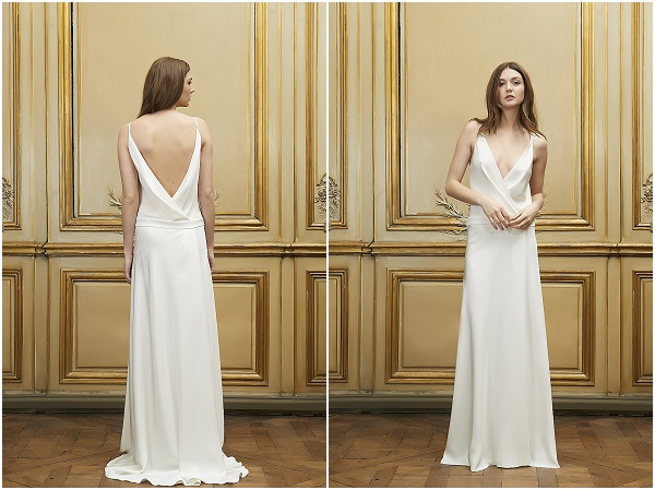 simple elegant wedding dress