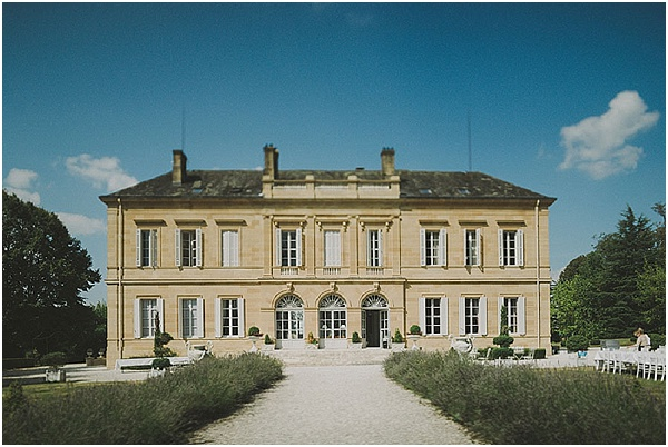 wedding at chateau la durantie