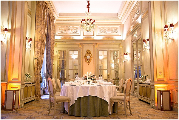 wedding hotel paris