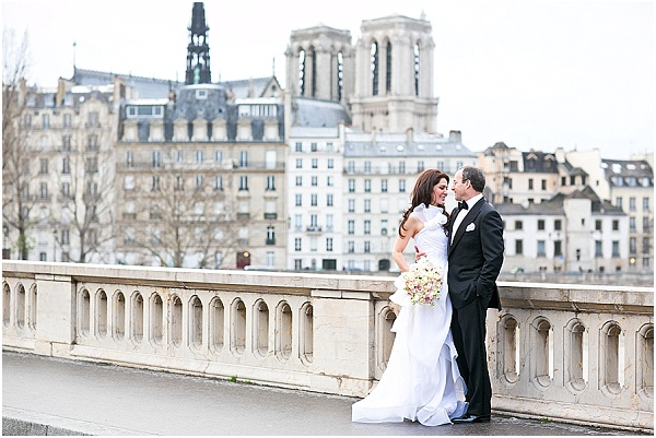 winter wedding paris