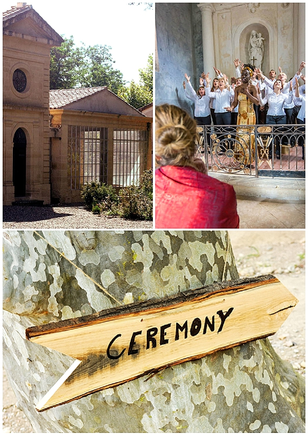 Roquelune Chapel Wedding