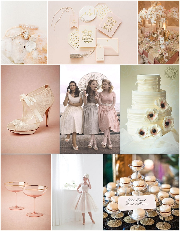 Whimsical Champagne Wedding Inspiration