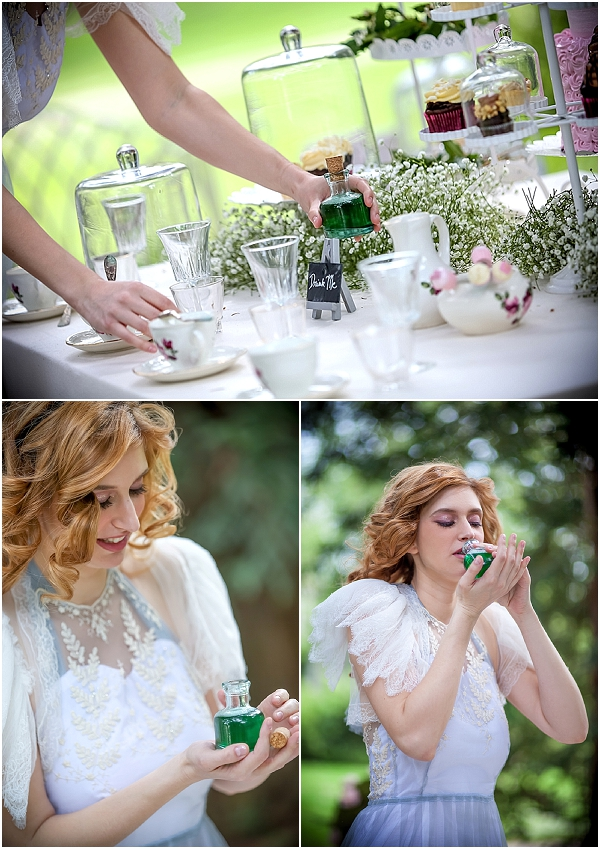 drink me fairytale wedding