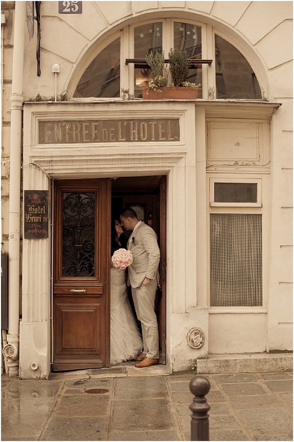 elopement wedding paris