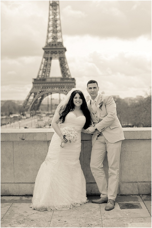 elopement wedding in Paris