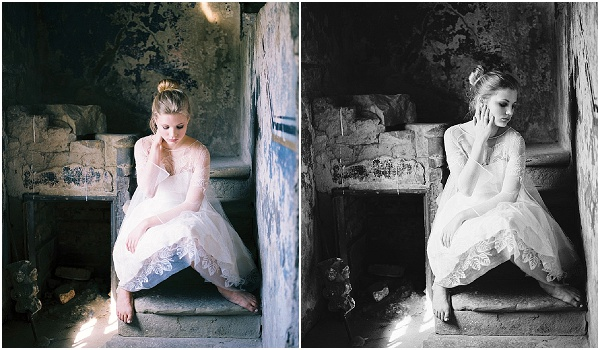 fine art bridal portraits