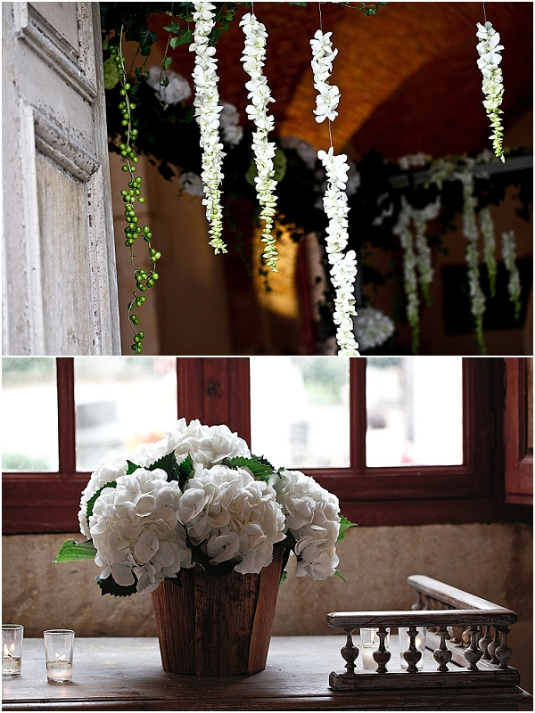 french wedding flowers