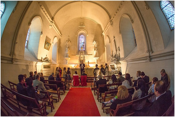 private chapel wedding
