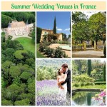 summer wedding venues in france